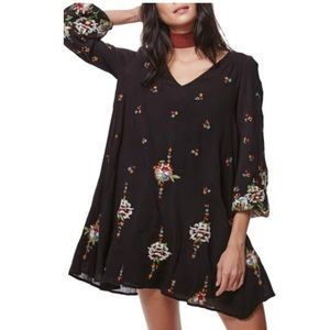Free People Dresses - [Free People] Oxford Embroidered Mini Dress
